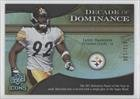 James Harrison #72/130 Pittsburgh Steelers (Football Card) 2009 Upper Deck Icons [???] #Dd-Jh