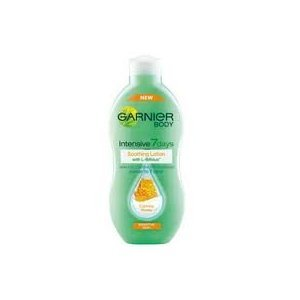 Intensive 7Days Garnier Body Intensive Lotion with L-Bifidus Sensitive Skin Calming Honey