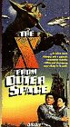 X from Outer Space [VHS]
