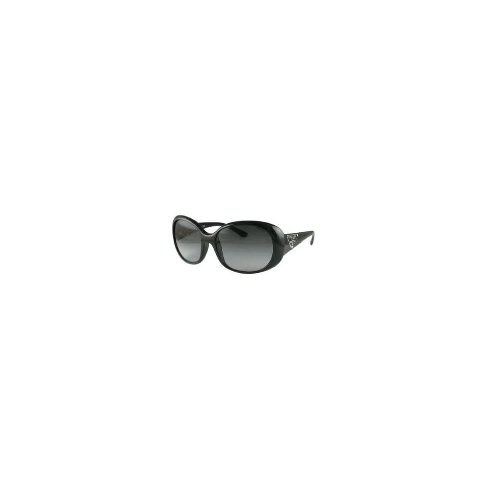 Prada Sunglasses SPR27L BLACK/GRAY GRADIENT 1AB3M1