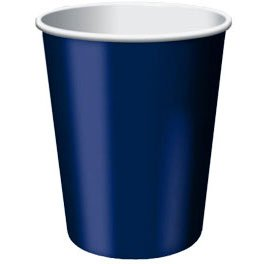 Navy Flag Blue 9oz - PaperCups