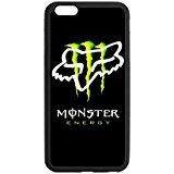 Personalized Monster Energy Fox Logo Case for iPhone 6 Plus (Iphone 6 Case Monster Energy compare prices)
