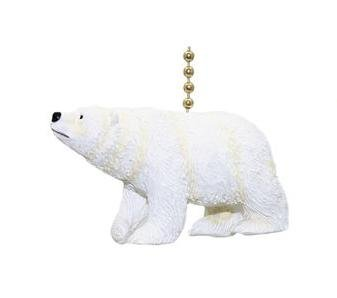 Arctic Polar Bear Ursus Carnivore Ceiling Fan Light Pull Chain