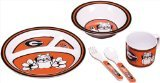 NCAA Georgia Bulldogs Kid's 5 Piece Dish Set - 1