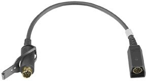 J&M Hc-Zfor Harley Z-Series Lower Section 8-Pin Cord For Harley 98-10