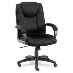 * Logan Series Mesh High-Back Swivel/Tilt Chair, Black