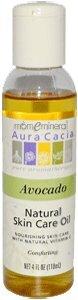 Natural Skin Care Oil, Avocado, 4 fl oz (118 ml) by Aura Cacia