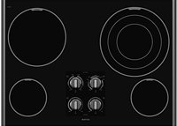 Maytag MEC7630WS 30 Smoothtop Electric Cooktop - Stainless Steel