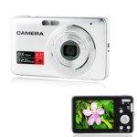 Dc-E60 2.6-Inch Lcd Screen 12M Pixel 8X Digital Zoom Camera(Silver)