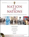 Nation of Nations: A Concise Narrative of the American Republic (0072417749) by Davidson