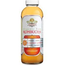 GTs Enlightened Organic Raw Kombucha Gingerade, 16 Ounce — 12 per case.