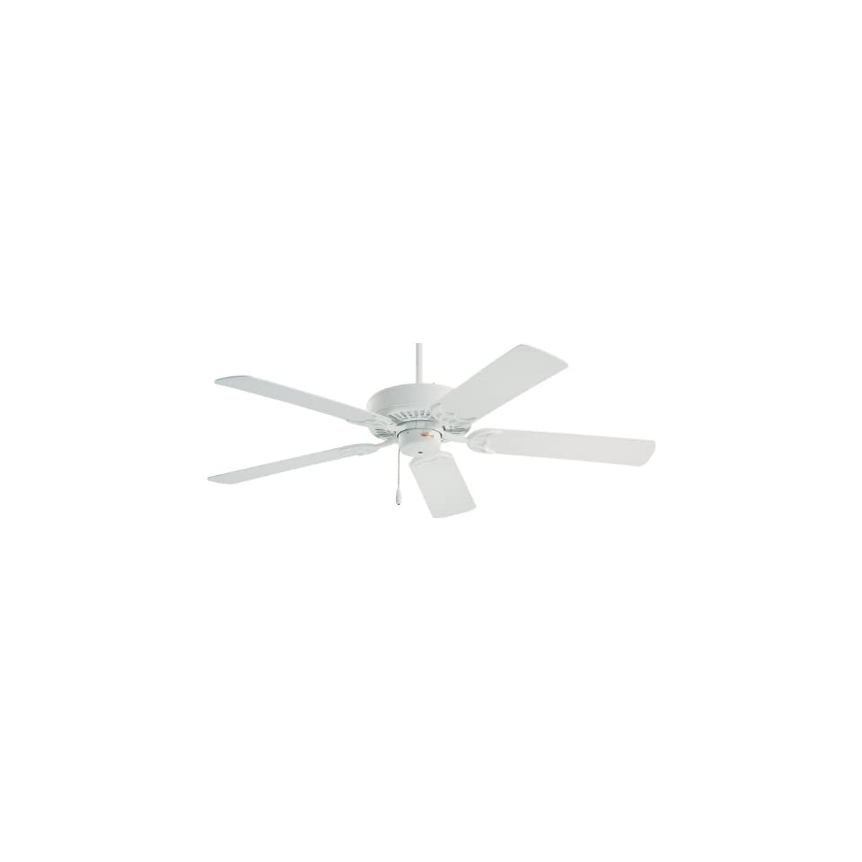 Emerson CF705CK Northwind Indoor Ceiling Fan, 52 Inch Blade Span, Chalk Finish and Chalk/Bleached Oak Blades