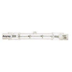 Anyray® A1838Y (2)-Pack J Type 120 Volt 250 Watt T3 78Mm Short R7S De Clear 250W