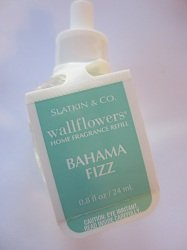 1 X Bath and Body Works Slatkin & Co. Single Wallflowers Refill Bahama Fizz
