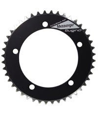 Sugino Track 46t Messenger Chainring 130mm 3/32 Black