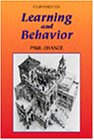Learning & Behavior (053434691X) by Chance, Paul