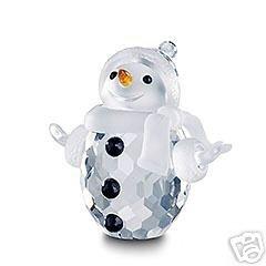 Cristallo Swarovski FIGURINE # 250229, Pupazzo di neve