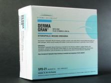 Box Of 15 Dermagran -B Hydrophilic Wound Dressing exit wound