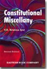 img - for Constitutional Miscellany book / textbook / text book
