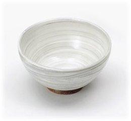 【益子焼 飯碗】 和田窯 刷毛目 飯碗(大) 5個組  / お楽しみグッズ(キッチン用品)付きセット
