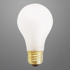 40 watt shatterproof rough service light bulb 10 000 hours. Black Bedroom Furniture Sets. Home Design Ideas