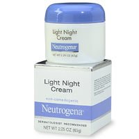 neutrogena light night cream ounce pack of 2. Black Bedroom Furniture Sets. Home Design Ideas