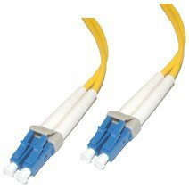 C2G / Cables to Go 26566 LC/LC Duplex 9/125 Single-Mode Fiber Patch Cable (5 Meters, Yellow) sc sc fiber cable fiber patch cord sc jumper cable single mode sm simplex 9 125 3 5 10 15 100 meters