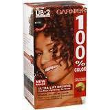 Garnier 100% UB-2 mahogany brown haircoloring - 1 ea
