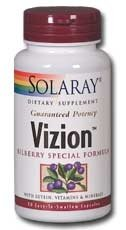 Отзывы Vizion Bilberry Special Formula Solaray 180 Caps