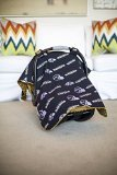 Carseat Canopy (NFL Baltimore Ravens) Baby Infant Car Seat Cover