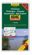 ADAC Wander RadKarte - Chiemsee Freizeitführer