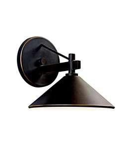 Kichler Lighting 49059Oz Ripley Light Outdoor Wall Lamp, Olde Bronze