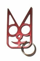 Safety Cat Women's Self Defense Keychain - Red