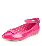 Scuff-Resistant Pointed Toe Bow Shoes
