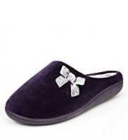 M&S Collection Secret Support™ Bow Mule Slippers