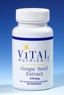 Vital Nutrients - Grape Seed Extract 100 Mg 90 Caps
