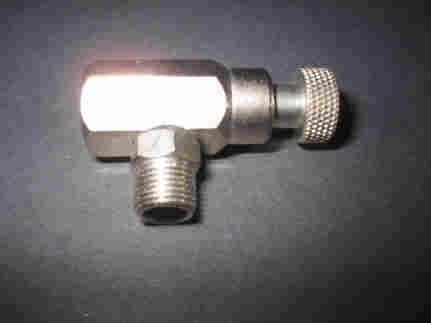 Reduzierventil ABA411 für Druckluftflasche G1/8