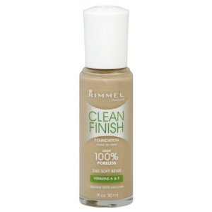Rimmel London Clean Finish Foundation, Soft Beige