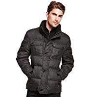 Autograph Hooded Down Filled Jacket with Stormwear™