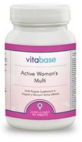 Active Woman'S Multi 90 Tablets Vitabase