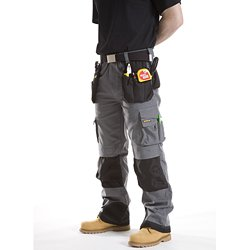 CAT Trademark Cargo Work Trousers Mens
