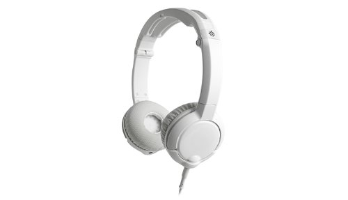 SteelSeries Flux Gaming Headset for PC, Mac, and Mobile Devices (White)