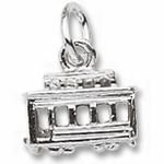 Rembrandt Charms Cable Car Charm - Gold Plated