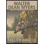 an analysis of themes in fallen angels by walter dean myers Fallen angels essays in fallen angels, walter dean myers introduces the theme of how a person can change just by the environment they enter he does this through the.