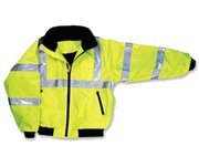 High Visibility Class III Jacket with Removable Lining - XX-Large