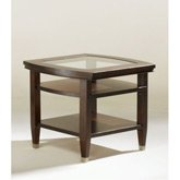 Cheap End Table by Broyhill – Dark Walnut Stain Finish (3312-02) (3312-02)