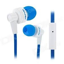 "KELWORLDâ""¢ High Quality AWEI Earphone with high performance In-Ear headphones blue"