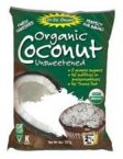 Let's Do Organic Coconut Finely Shredded Flakes Unsweetened -- 8 oz