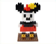 Tokyo Disney Resort Minnie Mouse nano block TDR Minnie Mouse nanoblock japan import