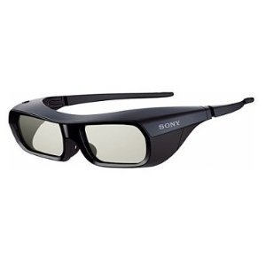 Sony 3d Adult Glasses, Tdg-br250/b Rechargeable , Black